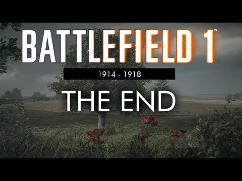 Battlefield 1: 1914 - 1918 (No HUD) - Armistice Day, The End