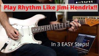Play Rhythm Like Hendrix - Double Stops Guitar Lesson