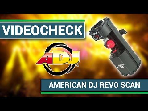 American DJ Revo Scan - Der Einsteiger LED Scanner | stage.review
