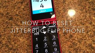 How to Reset Jitterbug Flip phone.
