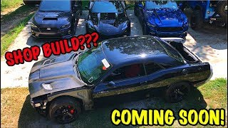 Rebuilding A Wrecked 2017 Dodge Hellcat Part 9