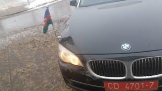 Хамское отношение водителя с дипномерами азербайджана в Минске