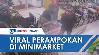 Video Detik-detik Perampokan Minimarket di Bogor yang Akan Tutup, 3 Korban Disekap dalam Toilet