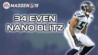 NANO BLITZ - 34 EVEN: Mike Scrape 3 - Madden 19