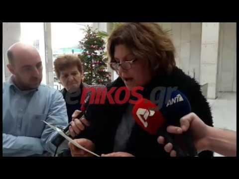Απεργία πείνας και δίψας αρχίζει η Πόλα Ρούπα (Video)