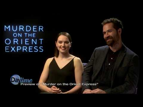 Daisy Ridley Interview for Murder on the Orient Express