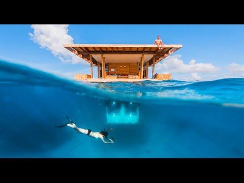 Video The Manta Resort's Underwater Room, Pemba Island, Zanzibar - Best Travel Destination
