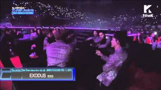 160217 EXO ~ Exodus @5thGaon Chart Kpop Award 2016 \(≧∇≦)/