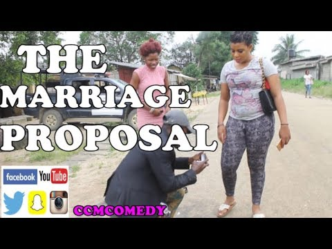 THE MARRIAGE PROPOSAL (ccmcomedy)