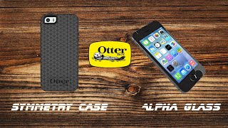 iPhone 5S Otterbox Symmetry + Alpha Glass Review!