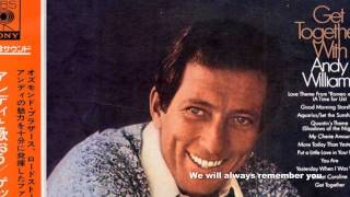 Andy Williams - Original Album Collection   Yesterday, When I Was Young