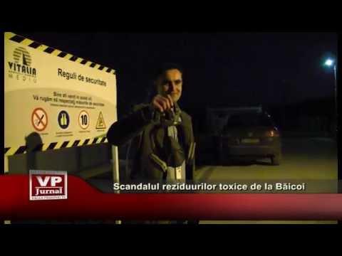 Scandalul reziduurilor toxice de la Baicoi