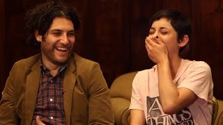 'Night Owls' SXSW Interview with Adam Pally and Rosa Salazar - @hollywood