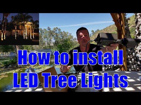 How to Install LED Tree Lights | Universal Lighting
