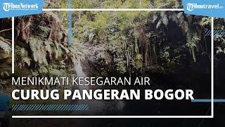 Menikmati Kesegaran Air Curug Pangeran di Kabupaten Bogor, Cocok Untuk Libur Panjang Imlek