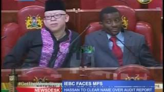 IEBC chairman defends himself before the the National Assembly's Justice and Legal Affairs Committee