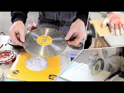 Алмазные диски для болгарки. Как выбрать? Подробное руководство + практика