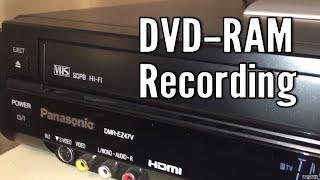Vintage Video Dub DVD-RAM Panasonic DMR-EZ47V