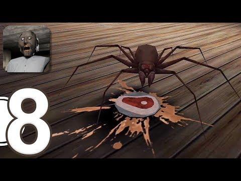 Granny - Gameplay Walkthrough Part 8 - Practice Mode and New Spider (iOS) (видео)