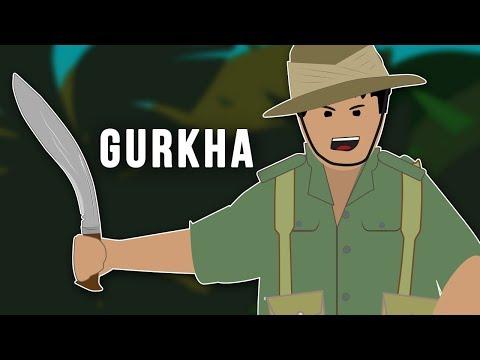 Gurkhové v druhé světové válce