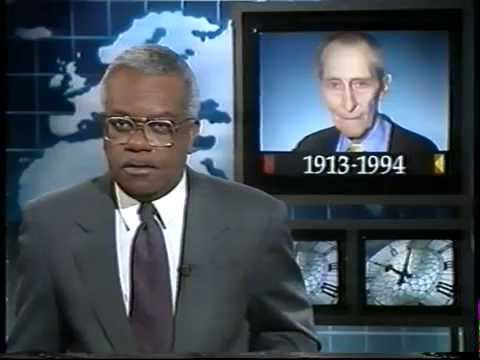 Peter Cushing - Death - ITN News - 1994