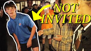 SNEAKING INTO EXCLUSIVE HOLLYWOOD PARTY!