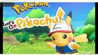 Pokemon Let's GO   Yuzu Switch Emulator   i3 4130 - GT 1030