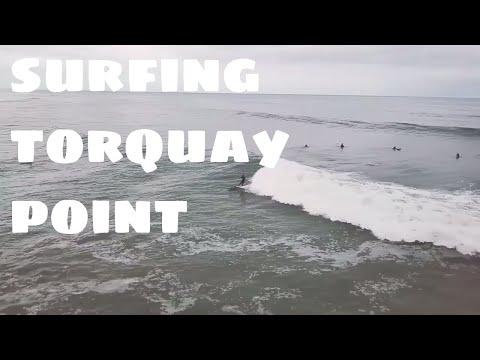 Fun waves at Torquay