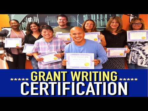 Grant Writing Certification: Become A Certified Grant Writer w ...