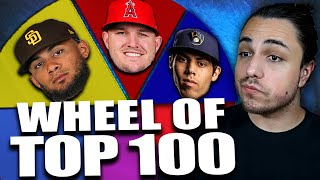 WHEEL OF TOP 100 MLB PLAYERS REBUILD | MLB the Show 20