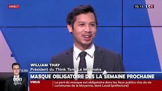William Thay - LCI - 16 juillet 2020