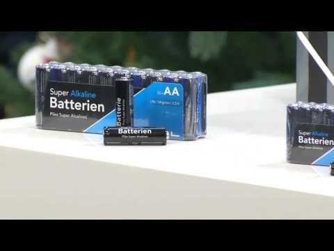 PEARL Super-Alkaline-Batterien Mignon 1,5V Typ AA, 20 Stück