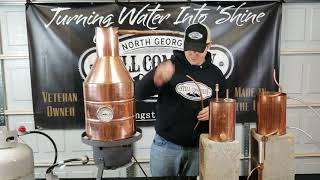 How To Setup Your Copper Moonshine Still