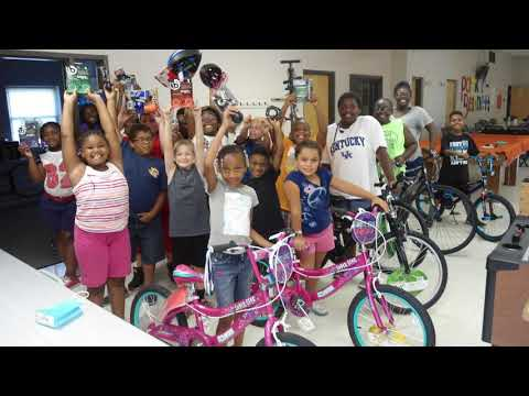 Bike Safety Day at Parker Bennett Community Center