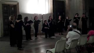"""Video: """"Tell My Ma"""" performed by Angelica, Women's Chamber Choir."""