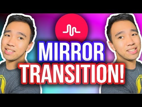 MUSICAL.LY MIRROR TRANSITION TUTORIAL! #MirrorTransition *NEW*