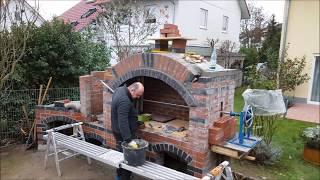 Pizzaofen, grill selber bauen , pravljenje rostilja, pekare i susnice