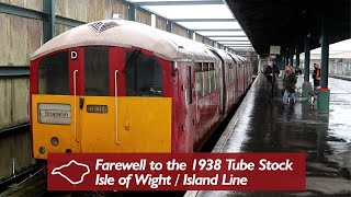 The Last 1938 Tube Trains on the Isle of Wight
