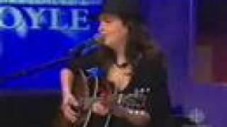 Damhnait Doyle - I Want you to Want Me (live)