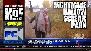 Nightmare Hallow Scream Park News 2013