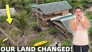 BecomingFilipino – PHILIPPINES BEACH LAND CHANGED – Building Another Small House? (Cateel, Davao)