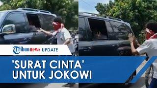 Remaja SMP di Lembata Kejar Jokowi dan Beri 'Surat Cinta', Aksinya Sempat Ditegur Paspampres