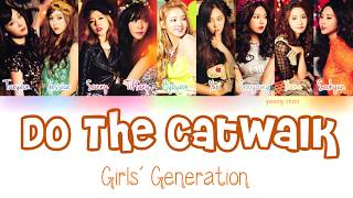 Girls' Generation (少女時代) - Do the Catwalk Lyrics