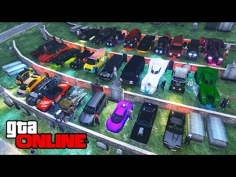 HALLOWEEN CAR SHOW/CONTEST! || GTA 5 Online || PC
