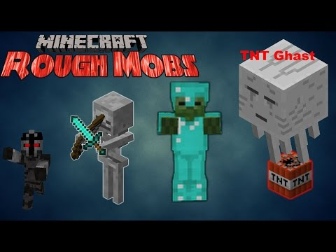Minecraft Rough Mobs Mod - Takes Minecraft To Another Level - Mod Showcase | Mr Super Magic