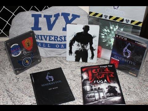 VideoSAC 12 – Terra Morta e Unboxing Resident Evil 6 Limited Edition