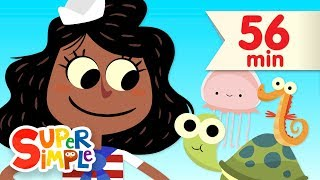 A Sailor Went To Sea | + More Kids Songs | Super Simple Songs