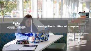 Video providing an overview of how to share files in UBbox.
