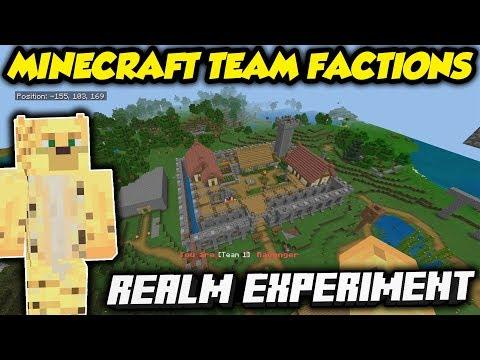 I Ran A Social Experiment… On The OFFICIAL Minecraft Realm