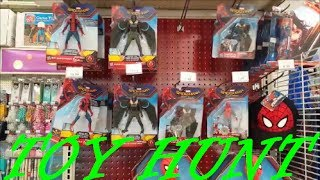 Spider-man Homecoming Toys released / ToysRus Toy Hunt